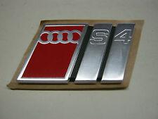 AUDI s4 c4 emblema logo 4a9853735 PORTELLONE Avant a6 v6 v8 20v Turbo