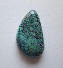 29.70 ct 100% Natural Chinese Qinggu 808 Turquoise Cabochon Gemstone, # DM 012