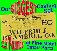 Wilfrid Brambell #205 FSM METAL DETAIL CASTINGS Fine Scale Miniatures TWO+ LBS !