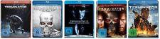 TERMINATOR Complete Collection 1 2 3 4 5 UNCUT Arnold Schwarzenegger BLU-RAY Neu