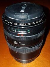CANON 28-70mm EF 1:3.5-4.5 II Macro Zoom Lens w/Original CANON Lens Caps LOOK!!