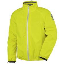 Scott Ergonomic Pro DP D-Size Regenjacke gelb Kurzgröße Motorradjacke Überjacke