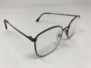 JG Hook Eyeglasses  Sabrina 53-18-140mm Burgundy Metal Frame Full Rim LL63
