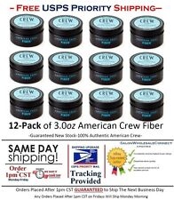 American Crew Fiber 3oz 12pk Bundle Free Same Day Priority Shipping By 1pm CST
