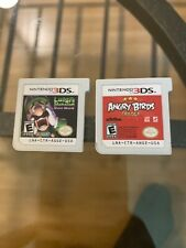 Luigi's Mansion: Dark Moon (3DS, 2013) And Angry Birds Trilogy