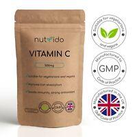 Vitamin C 500 mg Ascorbic Acid Immune Health Antioxidant High Strength | Tablets