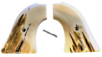Fits Heritage Arms Rough Rider GRIPS .22 & .22 MAG faux Mammoth tusk Grips