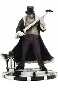 DC Collectibles Penguin Statue Pvc Figure Diamond Select Gallery Joker New