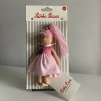 New Kathe Kruse Baby Schatzi Grun Doll 100% Organic Anti Allergen