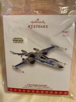 Hallmark Ornament~2017 SDCC Event Exclusive Star Wars T-70 X-Wing Starfighter