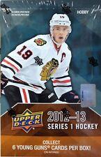 2012-13 Upper Deck Series 1NHL Hockey Hobby Box