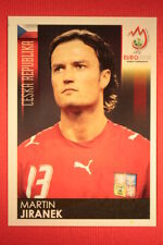 Panini EURO 2008 N. 80 JIRANEK CESKA REPUBLIKA NEW With BLACK BACK TOPMINT !!!