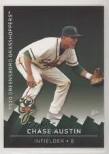2010 MultiAd Sports Greensboro Grasshoppers Chase Austin #16