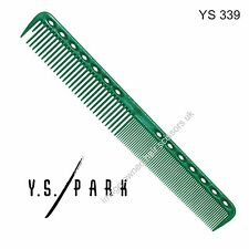 Y S Park Comb YS - 339 GREEN Hairdressing High Quality Cutting Comb