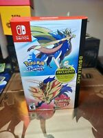 Pokemon SW/SH Double Pack - Outer Cardboard Box - Replacement BOX ONLY NO games