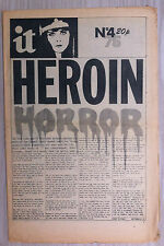 International Times 1976 No. 4 (#175) – 'Heroin Horror'