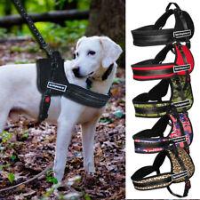 Nylon No Pull Dog Harness Reflective Strap Vest K9 Working Medium Large Labrador