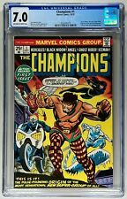 CHAMPIONS #1 CGC 7.0 VF (MARVEL 1975) 🔑 GIL KANE 🔥 BLACK WIDOW & GHOST RIDER