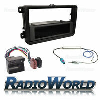 VW Golf MK5 MKV Stereo Radio Fitting Kit Facia Panel ISO Wiring Aerial Adaptor