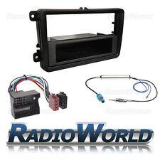 VW Golf MK5 MKV Stereo Radio Fitting Kit Facia Panel ISO Wiring Aerial Adaptor