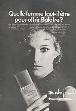 ▬► PUBLICITE ADVERTISING AD PARFUM PERFUME BALAFRE Lancôme