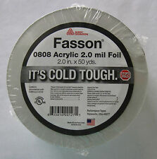 Aluminum Foil Heat Trace Tape - 2 Inches x 150 Feet 50 yards