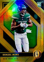 🔥 2020 Denzel Mims RC /11 Panini Gold Standard SP Green Parallel Baylor NY Jets