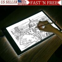 A5 USB LED Artist Tattoo Stencil Board Light Box Tracing Drawing Pad Art Display