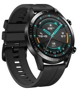 Huawei Watch GT2 2020  Sport Watch 46mm Black Water Resistant Mint Condition