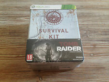 Tomb Raider Survival Kit - XBOX 360 - Neuf Sous Blister
