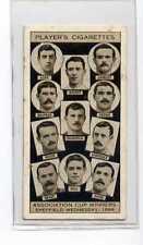 (Jb7547-100)  PLAYERS,ASSOCIATION CUP WINNERS,SHEFFIELD WEDNESDAY 1896,1930#17
