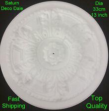 Polystyrene Ceiling Rose Centre Diameter 33cm (13 inch) Saturn - Not Resin