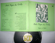 TERRA A TERRA Pelo Toque Da Viola near-MINT VINYL Portugal choral LP carl orff