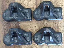4 BMW Reifendrucksensoren RDC LC 433 MHz X1 E84 X3 F25 5er F10 F11 6798872 NEU