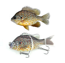 "5"" Bluegill/Pumpkinseed Sunfish Swimbait Fishing Lure"