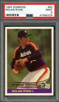 Nolan Ryan Card 1994 (1984) Donruss Anniversary #60 Houston Astros (Look) PSA 9