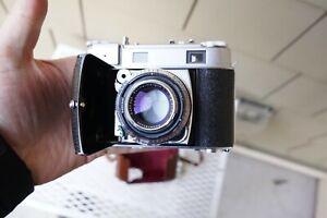 Kodak Retina III C 35mm Film Rangefinder Camera Rodenstock 50mm f/2 lens Case