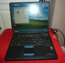 COMPAQ EVO N610c RETRO GAMING LAPTOP WINDOW XP PRO SP3 PENTIUM 4.M WITH GAME