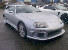 TOP SECRET FRONT BUMPER with UNDERTRAY nose cone TS Toyota Supra UK STOCK