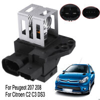 Radiator Fan Motor Relay Resistor 1267J6 For Citroen C2 C3 DS3 Peugeot 207  .+