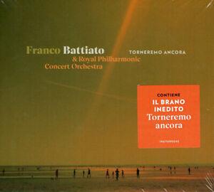 FRANCO BATTIATO - TORNEREMO ANCORA - CD NUOVO SIGILLATO 2019 ROYAL PHILHARMONIC