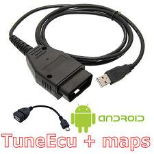 Tuneecu compatible KKL plomo Tune Ecu incluye Android Usb