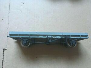 0 gauge 7mm Flat Bed Metal / Plastic Construction Kit Built