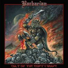 BARBARIAN Cult of the Empty Grave CD SEALED NEW 2016 Hell's Headbangers USA