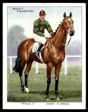 Wills Racehorses & Jockeys 1938 - Mirza II - H Wragg No. 17
