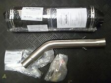 REMUS Triumph Tiger 800 800XC Hexacone Carbon Muffler with Connecting Tubes