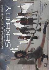 Dvd video Steelbook **SERENITY** Metal Box nuovo sigillato 2005