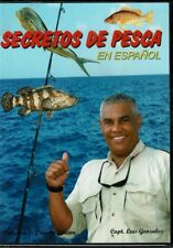 Secretos de Pesca En Español Capt. Luis Gonzalez  BRAND NEW SEALED DVD