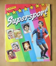 PANINI Supersport 87 1987 COMPLETE Sticker Album *VG Condition*