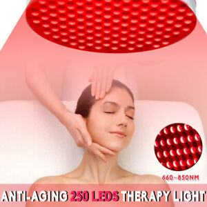 60W 850nm LED Anti Aging Therapy Light Panel Full Body Skin Red Near Infrared